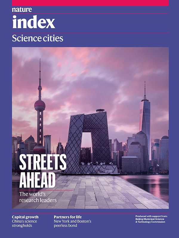 Nature Index Science cities